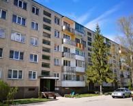 Dviejų kambarių butas Naujosios Akmenės mieste